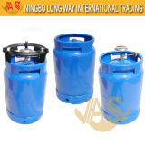 Kenya Market Steel LPG Gas Cylinder for Gas Burner and Grill for Camping and Cooking