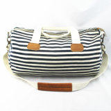 Women′s Stripe Duffle Bag