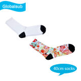 Sublimation Customized Man Socks Stocking with DIY