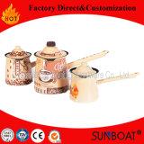 Enamel Coffer Mug Enamel Coffee Pot Sunboat Kitchenware