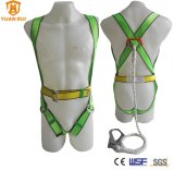 Full Body Safety Harness with Rope Lanyard Body Harness with Fall Arrest Lanyard