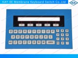 Flat Embossed Keys Membrane Keyboard Overlay