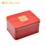 Small Rectangular Tin Box for Tea Packing
