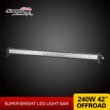 """240W 42"""" Offroad CREE High Output LED Light Bar"""