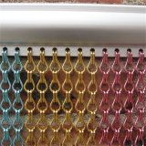 Anodic Oxidation. Double Hook Aluminum Chain Link Curtain