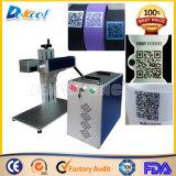 Metal/Nonmetal 2D Code CNC Fiber Laser Marking Machine