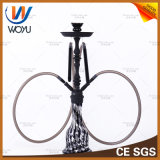 Earl Black Paint Water Pipes Zinc Alloy Material The Water Pipe Smoking Set Handle Hookah Smoke Pipe