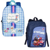 School Bag with Heat Sublimation Transfer Printing