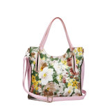 2015 Flower Print Woman Designer Shoulder Handbag (MBNO039014)