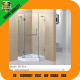 Diamond Shaped Shower Doors with 10mm Glass