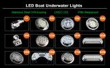 9W IP68 Waterproof LED Drain Plug Light for Yacht