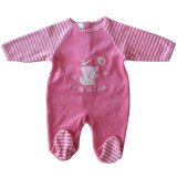Velour Baby Wear with Embroidery