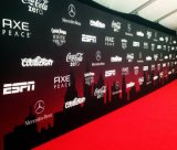 Custom Full Color Printing Large Format Vinyl Backdrops Step and Repeat Banner