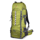 70L Camping Hiking Nylon Backpack Mountaineering Travel Rucksack Trekking Bag
