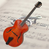 17inch Archaizeed Color Handmade Jazz Guitar---Non Cutaway (YZ-12A)