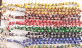 Muslim Glass Prayer Beads, Glass Rosary Beads, Religious Glass Beads (001)