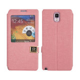 Flip Cover Top Selling PU Case for Samsung Note 3