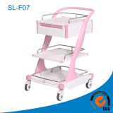 FDA and CE Approved Deluxe Medicine Trolley (SL-F07)