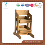 Counter Top Wooden Two Tier Fruit Stand