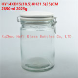 2850ml Food Glass Seal Jar Seal Storage Glass Container