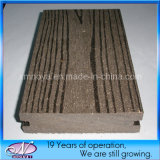 Best Wood Plastic Composite WPC Decking for Outdoor Flooring (Ny90*25)