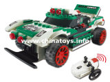 New 4CH Infrared Remote Control Building Block Vehicle Car Plastic Toy (837615)