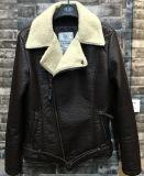 Stylelish Fashion Man PU Jacket with Fur Linning