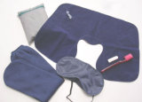 Travel Set for Air Pillow Eyeshade and Earplugs