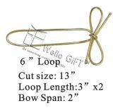 Cheap Gold Metallic Elastic Loop Strech Loop
