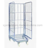 Three Sides Folding Roll Wire Mesh Container