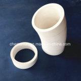 Beveled Alumina Ceramic Elbow Bend Pipe Used in Mine