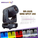 Mini 250W LED Spot Moving Head Stage Light