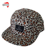 Leopard Corduroy 5 Panel Hats