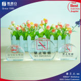 Plexiglass Table Sign Board Display Stands