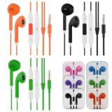 Colorful 3.5mm Earbuds Headphones with Remote and Mic