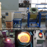 100 KG aluminum Induction Heating Melting Furnace Electric Tilting Furnace
