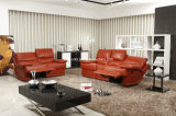 Recliner Sofa, Leather Sofa, Furniture (8993)