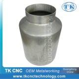 Metal Aluminium CNC Spinning Part Milk Bucket