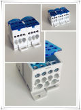 Blue Color Modular Distribution Block