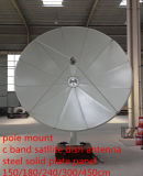 1.5 1.8 2.4 3 3.7 4 5 6m 4 6 8 10 12 14 18 22feet Prime Focus Fullset C Band Satellite Steel Iron Fiber Plate Solid Fiber TV Digital HD Parabolic Dish Antenna