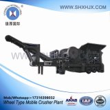 Wheel Type Mobile Stone Crusher Plant with 80-130 Tph Capacity