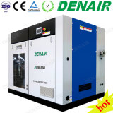Silent Stationary Oilless Oil-Free Oil Less Non-Lubricated Rotary Screw Air Compressor Manufacturer