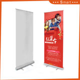 Top Quality Aluminum Roll up Banner Size, Moving Roll up Banner Stand Model 18