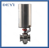 """3/4"""" Stainless Steel Ss304 EPDM Seat Triclamp Butterfly Valve"""