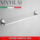 "24""  Square Bathroom Chrome Plate  Brass Single Towel Bar"