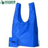 Promotion High Quality Reusable Polyester Nylon Foldable Shopping Bag