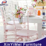 Top Quality Tiffany Furniture Resin Transparent Chiavari Chairs