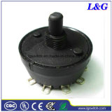 Electrical Appliances Sp5t 5 Position Selector Rotary Switch
