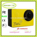 "Best Selling 2016 WiFi Sports Camera 4k Ultra HD 1080P 60fps H264 Video with 2"" HD Screen 1050mAh Battery"