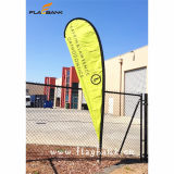 3.4m Exhibition Aluminium Digital Printing Teardrop Banner/Teardrop Flag/Flying Banner